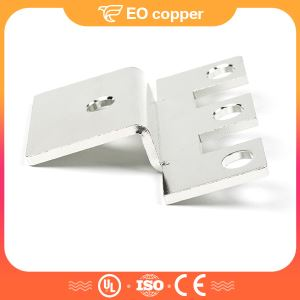 Epoxy Powder Coat Copper Flat Busbar Connector