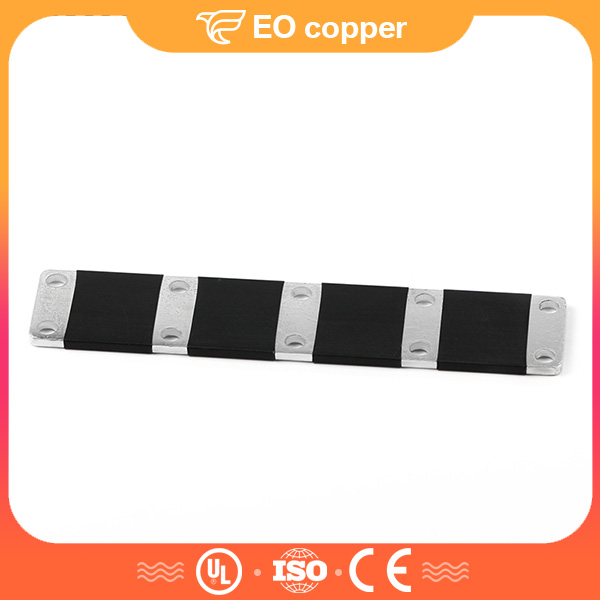Tinned Flat Copper Connecting Busbar For Circuit Breaker
