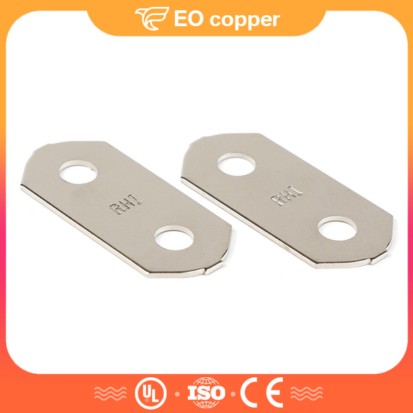 Tiny Nickle Plated Car Battery Copper Busbars